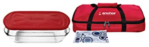 Anchor HockingEssentials Tote Set with Embrace Lid (Set of 4)
