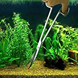 Jeeco Aquarium Scissor Tweezers Spatula Tool - 4 in