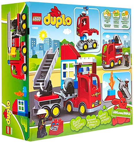 Truck Toys For 3 Year Olds : ★free shipping★lego duplo town fire truck buildable