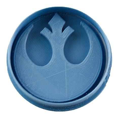 Cuticuter Alianza Rebelde Star Wars Cortador de Galletas, Azul, 8x7x1.5 cm