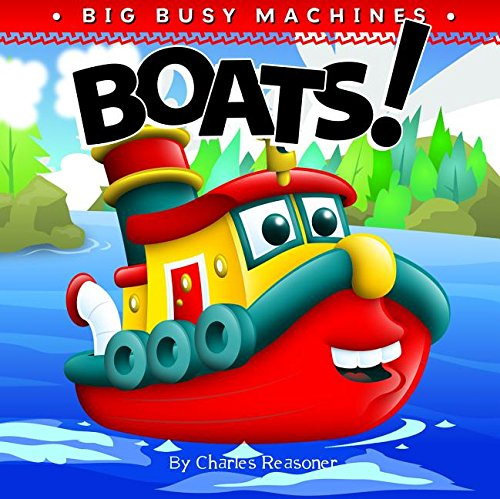 Boats! (Big Busy Machines) ebook
