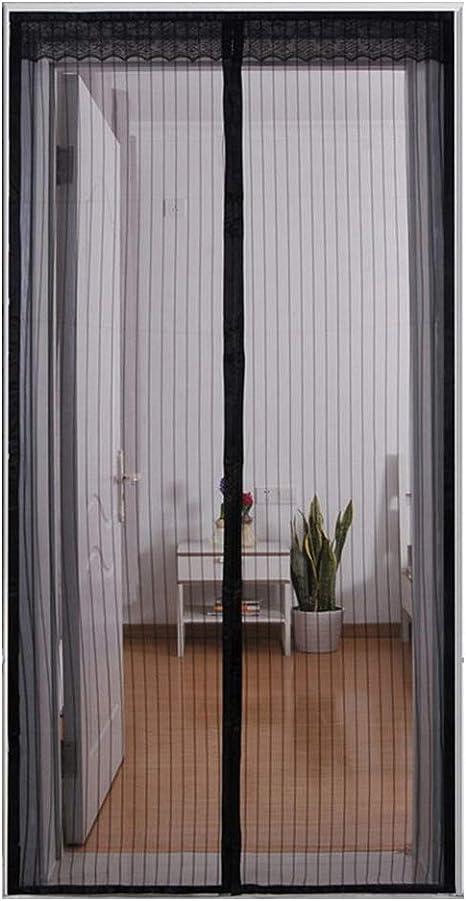 Em Home Cortina Mosquitera para Puertas con Cierre Magnético en ...