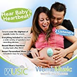 Womb Music Heartbeat Baby Monitor by Wusic - Listening to the sounds your baby makes is like music to a mommys ears! The perfect pregnancy gift for a new mommy