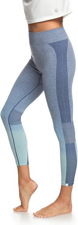 Roxy Passana 2 Legging de Sport Femme Bleu: Roxy