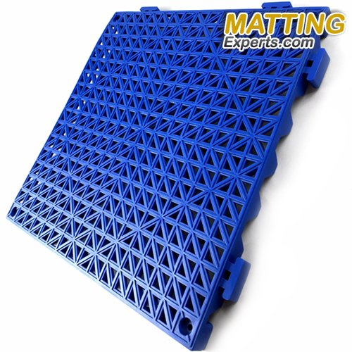 VinTile Modular Interlocking Cushion Floor Tile Mat Non-Slip with Drainage Holes for Pool Shower Locker-Room Sauna Bathroom Deck Patio Garage Wet Area Matting (Pack of 6 Tiles - 11.5'' x 11.5'', Gray) by MattingExperts (Image #4)
