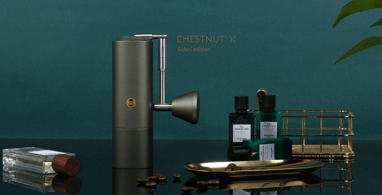 Timemore Moulin /à caf/é manuel Chestnut X Safari Green De qualit/é sup/érieure.