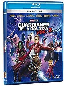 Guardians of the Galaxy Vol 2 (Guardianes de la Galaxia Vol 2) BLU-RAY 3D (English and Spanish Audio & Subtitles) - IMPORT