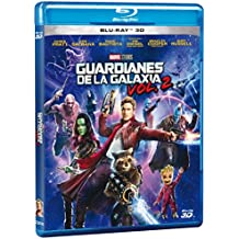 Guardians of the Galaxy Vol 2 (Guardianes de la Galaxia Vol 2) BLU-RAY 3D (English and Spanish Audio & Subtitles) - IMPORT
