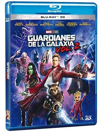 Guardians of the Galaxy Vol 2 (Guardianes de la Galaxia Vol 2) BLU-RAY 3D (English and Spanish Audio & Subtitles) - IMPORT (Dave Bautista Guardians Of The Galaxy 2)