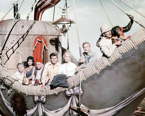 - Five Weeks in a Balloon Featuring Red Buttons, Fabian , Barbara Eden, Cedric Hardwicke, Peter Lorre, Richard Haydn, Barbara Luna