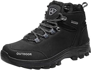 Dasuy Men Women Hiking Shoes Waterproof