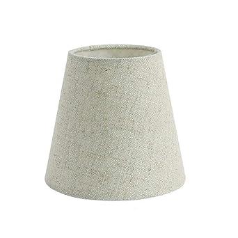 Pantalla de lámpara con clip para lámpara de mesa: Amazon.es ...