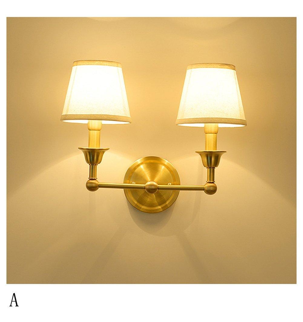 Oofay Light Toute Lampe Murale En Cuivre Simple Style