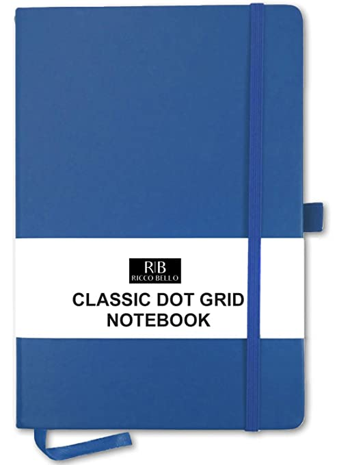 Amazon.com: Cuaderno de RICCO BELLO con cuadrícula de ...