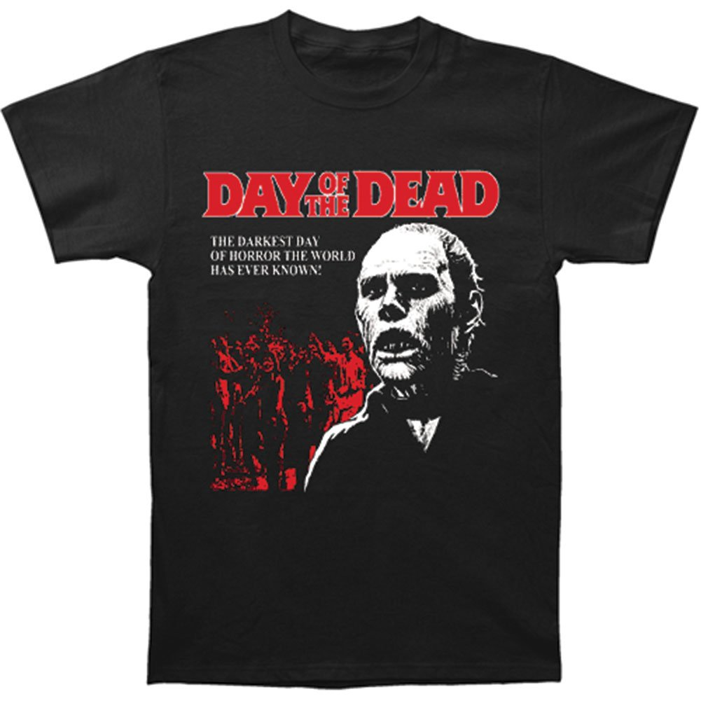 Day Of The Dead Darkest Day Of Horror Adult T Shirt 9994
