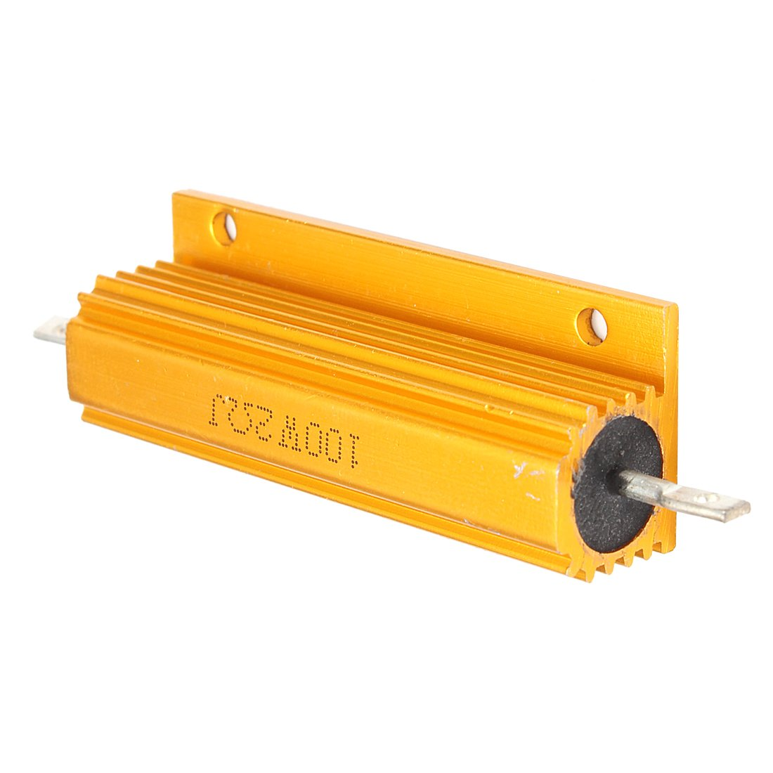 Gold Aluminum Clad Power Resistor Resistance 100W SODIAL R 4 Ohm 4R