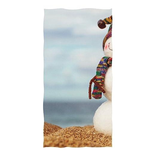 WOCNEMP Estera de Playa al Aire Libre El muñeco de Nieve ...