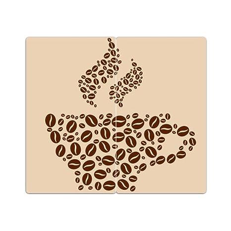 Juego de 2 cubiertas M. Noppen de cortar Café: Amazon.es ...