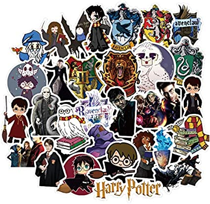 Harry Potter Sticker Anime Cartoon Cute Decals Pegatinas para ...