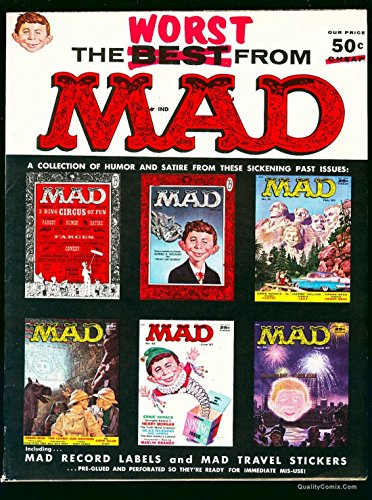 The Worst From Mad #1 VF+ 8.5