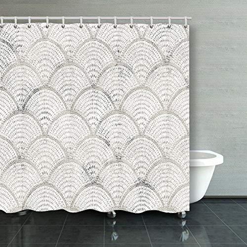 Shower Curtain geometry texture classic modern pattern backgrounds textures pattern Backgrounds Textures beauty fashion pattern Beauty Fashion Decorative Bathroom Curtains Colourful 6072inch