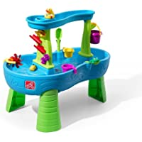 Step2 Rain Showers Splash Pond Water Table Playset (Deluxe Pack: includes Toys & Accessories)