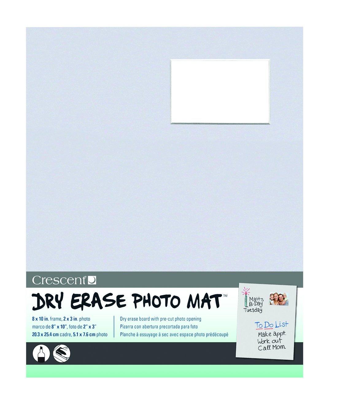 Amazon.com: Crescent 12-301 Dry Erase Photo Mat, 8\