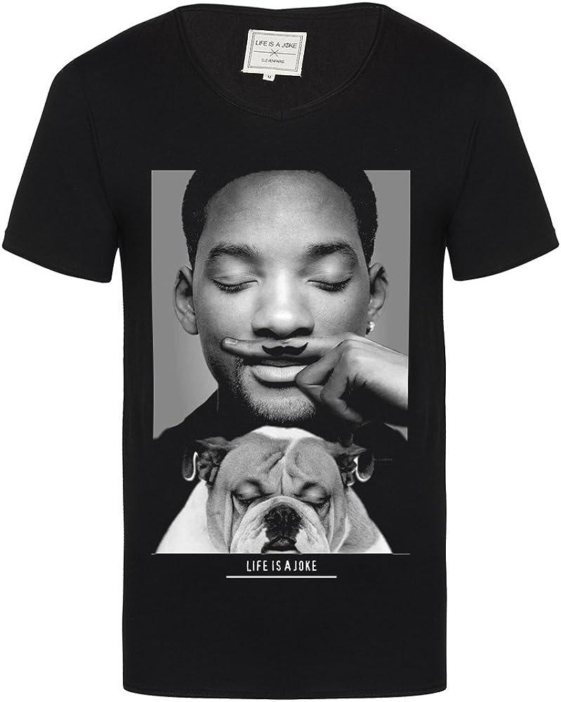 Eleven Paris - Camiseta de Manga Corta Will Smith, niña, Negro, 6 años: Amazon.es: Ropa y accesorios