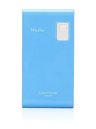 WALIO Power Bank(Batería Externa) Azul, 4200mAh, Cargador portátil ...