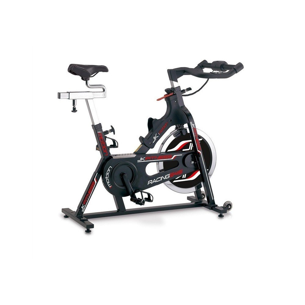JK FITNESS - Bicicleta estática Spin Bike ajustable Racing jk545 ...