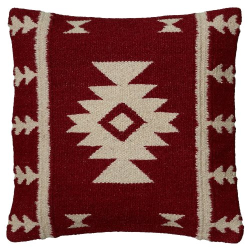 Rizzy Home Woven Southwestern Patten Decorative