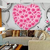 Ohcde Dheark Modern Simple Style Background 3D Stereo Murals Living Room Wallpaper,250cmX175cm(98.4 By 68.9 In )