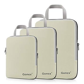 sélection premium 67e1f da666 Gonex Organisateur Bagage Compressible de Valise Organiseur ...