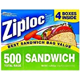 Ziploc Sandwich Bags, 125 Count (Pack of 8)