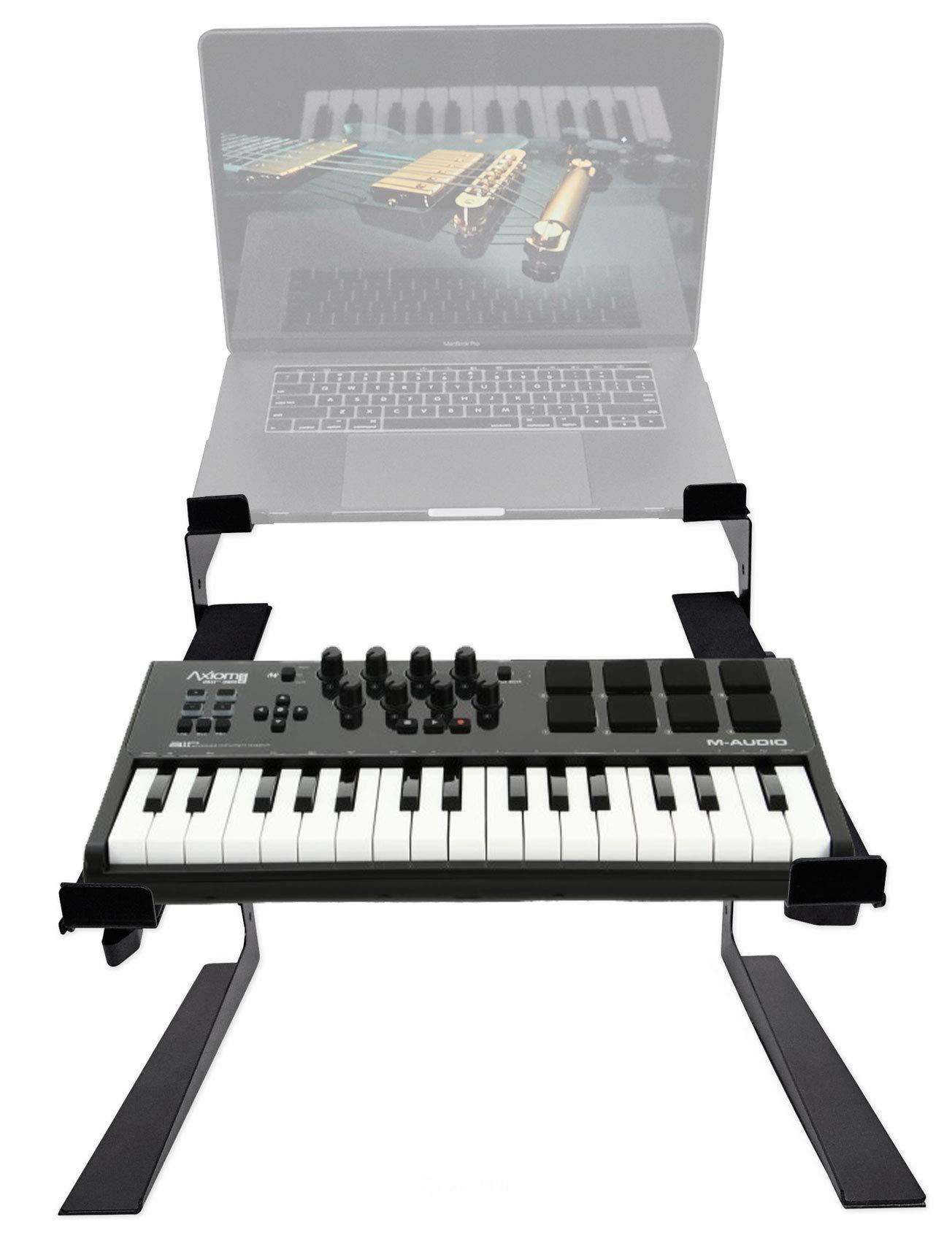 M-Audio Axiom AIR Mini 32-Key USB MIDI Keyboard Controller+Drum Pads+Dual Stand by M-Audio