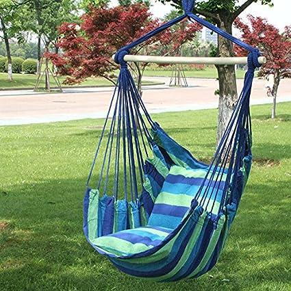 Amazon.com: Balancín de jardín silla hamaca con bolsa de ...