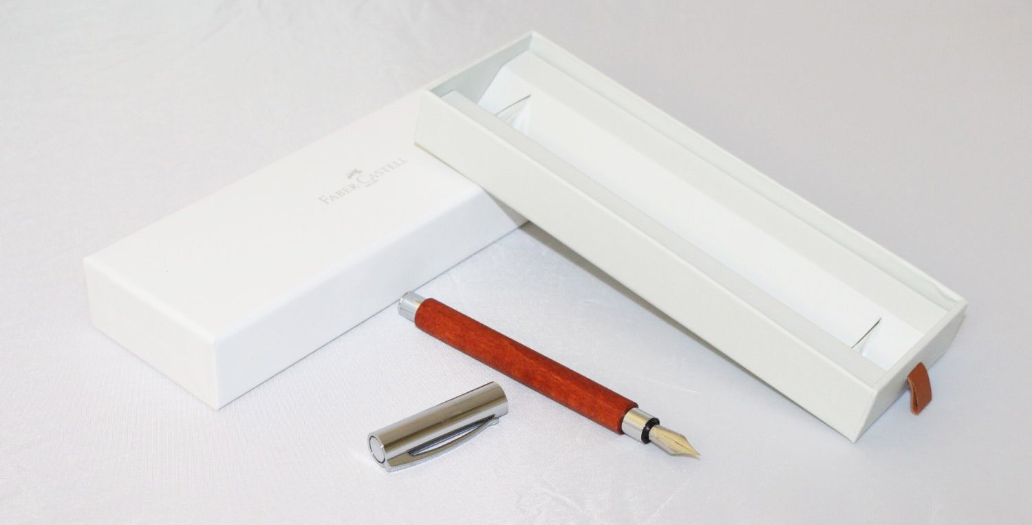 Faber Castell Ambition Fountain Pen Medium-Pearwood
