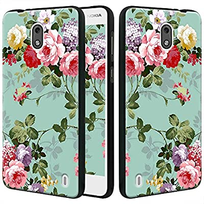 Nokia 2 Case, Linkertech Slim Air Armor Thin Fit Silicone Gel Soft TPU Bumper Durable Flex and Easy Grip Protective Case for Nokia 2 by Linkertech