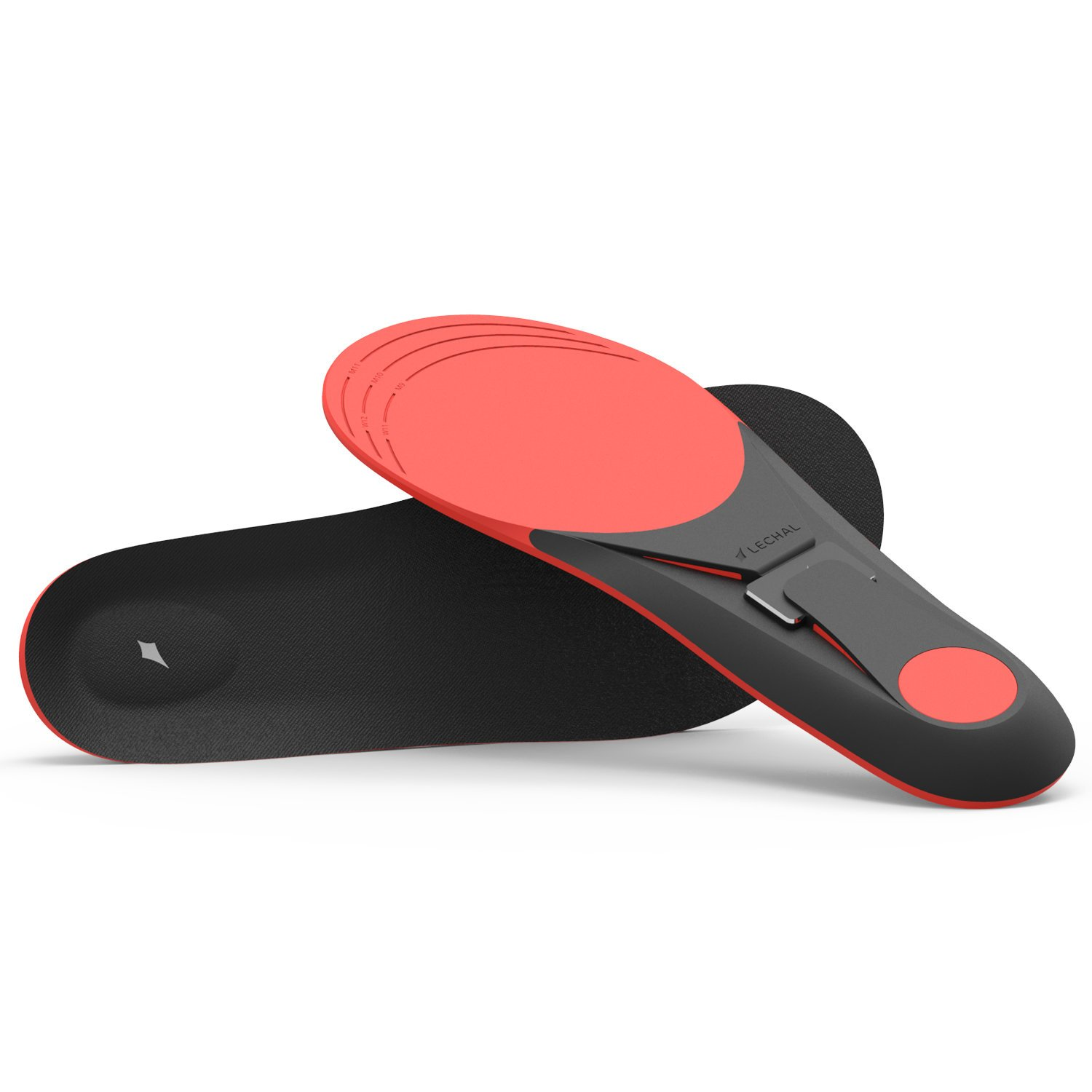 Lechal Smart Navigation and Fitness Tracking Insoles and Buckles, Unisex, Large