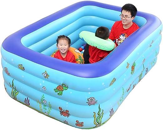 LDIUY Piscina Hinchable Piscinas Inflable para Niños Nadar Bañera de Hidromasaje Inflables Juguetes Jardín Gran Tamaño Familia Adulto Bebé Agua Interior Casa Cuatro Pisos: Amazon.es: Hogar