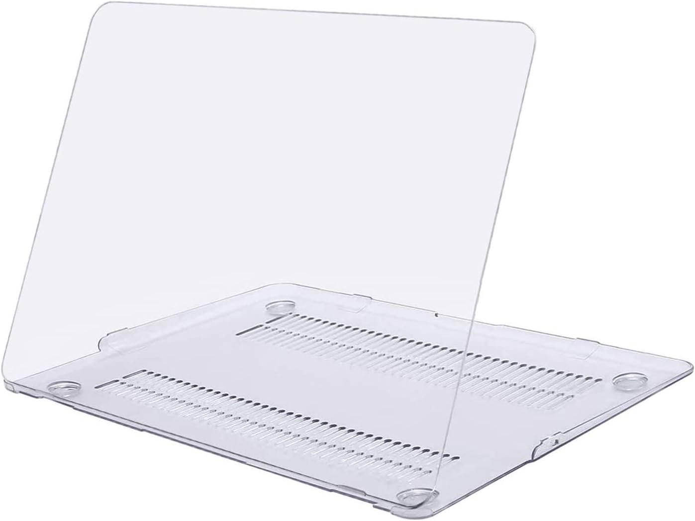 MOSISO Funda Dura Compatible con MacBook Air 13 Pulgadas (A1369 / A1466, Versión 2010-2017), Ultra Delgado Carcasa Rígida Protector de Plástico Cubierta, Cristal