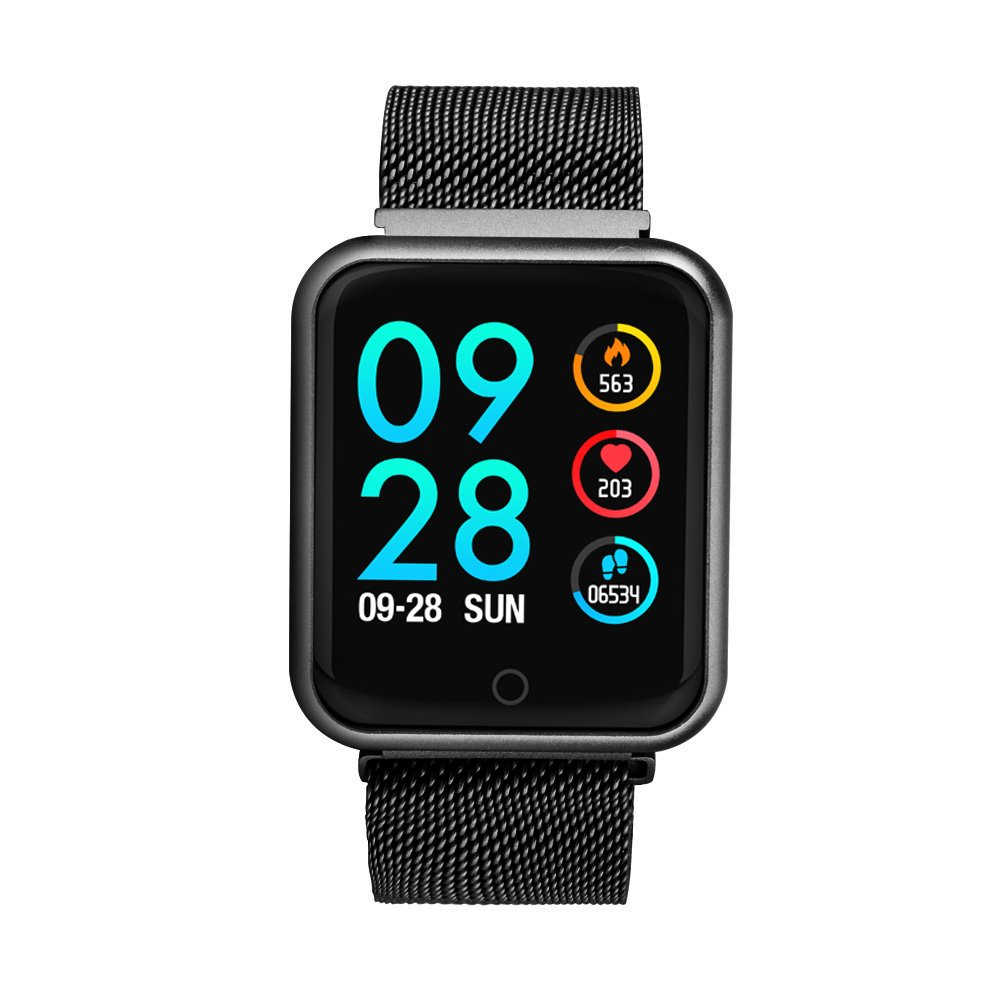 KingTo Activity Tracker Watch Waterproof with Heart Rate Monitor and Blood Pressure Monitor Fitness Tracker Watch Women and Men for Android and iOS Smartphone by KingTo (Image #3)