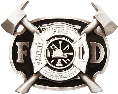 New Skull Firefighter Belt Buckle Gurtelschnalle Boucle also Stock in US