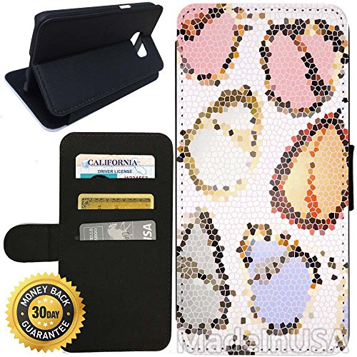 Flip Wallet Case for Galaxy S7 (Fashion Sunglasses Hipster Style) with Adjustable Stand and 3 Card Holders | Shock Protection | Lightweight | Includes Stylus Pen by - Sunglasses Ebay Men