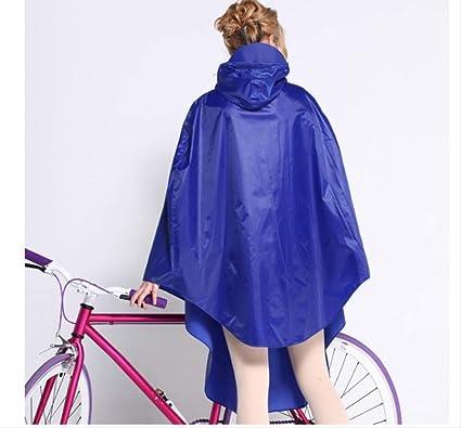 YiJiaMei Poncho de Bicicletas de Moda Poncho de Viaje ...