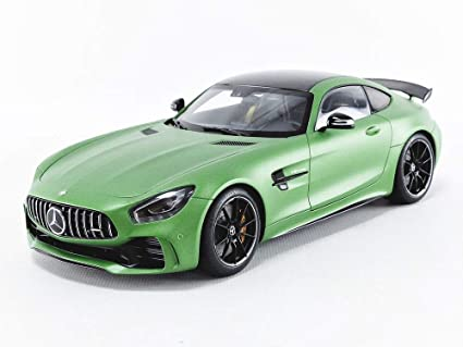 Amg Gt R >> Mercedes Amg Gt R Amg Green Hell Magno Matt Metallic Green With Carbon Top 1 18 Model Car By Autoart 76333