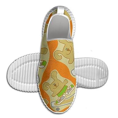 Ollie The Bunny Snowboard 3D Print Men Walking Shoes Lightweight Sport Running Shoes