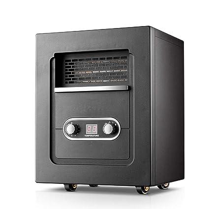 Calentador YNN Calefacción Hogar Oficina Ahorro de energía Estufa de calefacción eléctrica Baño silencioso Secado Chimenea