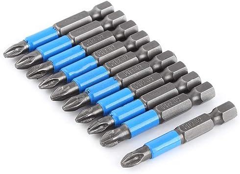 50mm PH2 Magnetic Screwdriver Bit Set Anti Slip Electric Magnetic Screwdriver/_XI