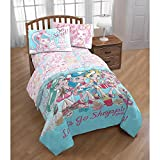 Shoppies Twin Comforter and Sheet Set - Twin